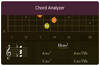 Guitar chord finder & analyzer on oolimo.com