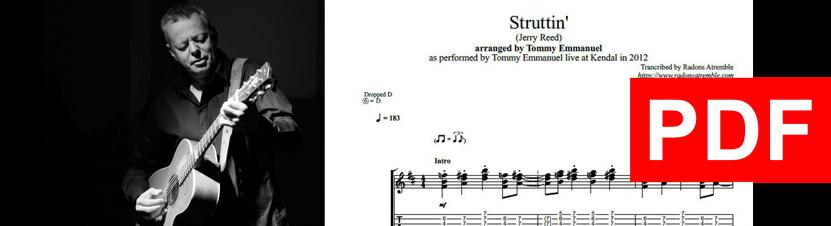 005 Struttin' - Tommy Emmanuel PDF Image