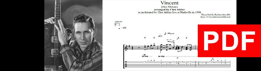 008 Vincent - Chet Atkins PDF Image