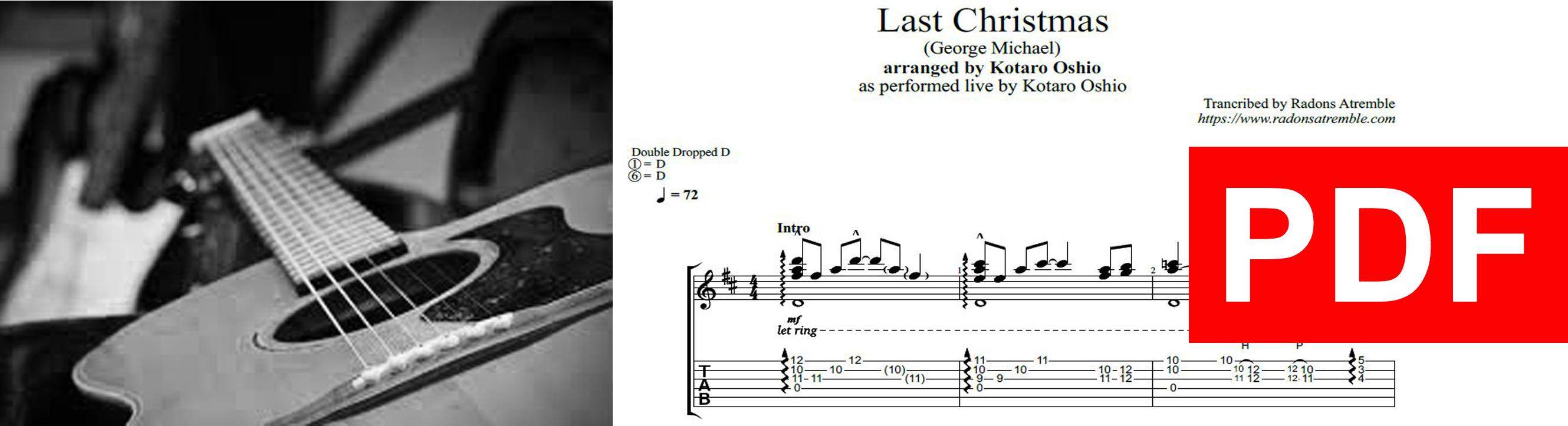 009 Last Christmas - Kotaro Oshio PDF Image