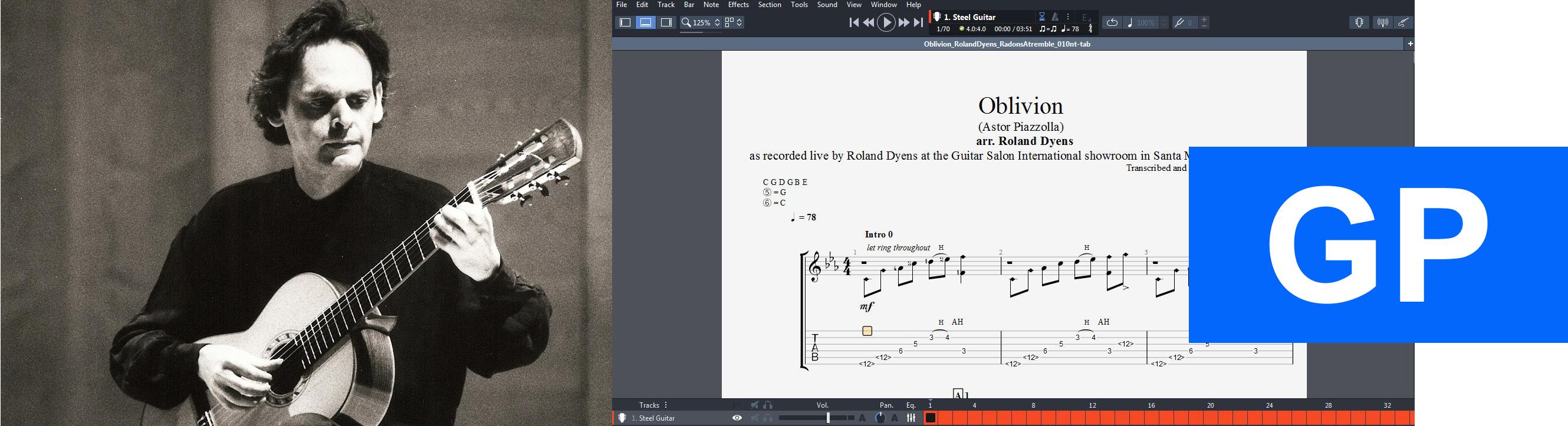 010 Oblivion - Roland Dyens GP