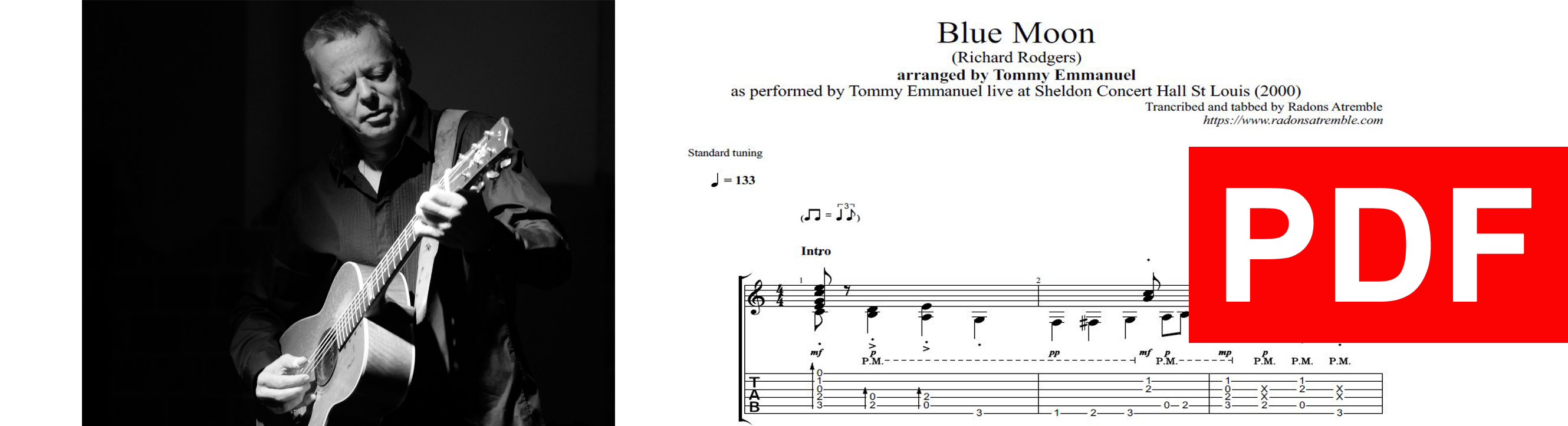 011 Blue Moon - Tommy Emmanuel PDF